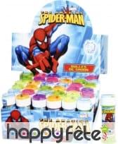 Bulle a savon spiderman