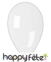 Ballons blanc circonférence 66 cm