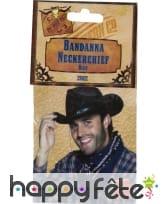 Bandana bleu cowboy, image 1
