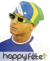 Bandana Brésil de 55 cm