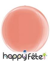 Ballon boule en mylar de 38cm, image 4