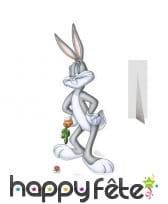 Bugs Bunny en carton taille réelle