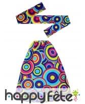 Bandeau bleu hippie avec jambières, image 1