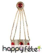 Bracelet bague oriental