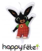 Bougie Bing pour anniversaire, 8,5 cm