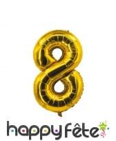 Ballon chiffre doré de 85 cm, image 9