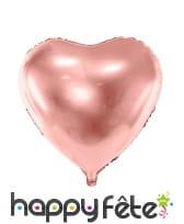 Ballon coeur de 45 cm en aluminium, image 1