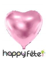 Ballon coeur de 45 cm en aluminium, image 2