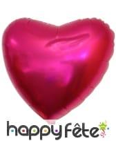 Ballon coeur de 45cm en aluminium, image 4