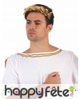 Bandeau couronne de César dorée, image 1