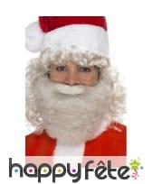 Barbe couleur perle de père Noël