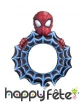 Ballon cadre Spiderman toile d'araignée, 68 x 81cm