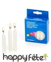 Boite de 12 bougies à lampions, image 1