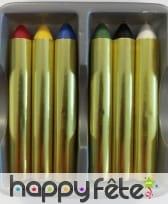 Blister de 6 crayons gras, image 1