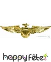 Broche d'aviateur, couleur dorée