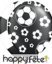 Ballon de baudruche imprimé ballons de foot