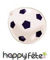 Ballon de baudruche motifs football