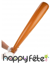 Batte de baseball gonflable imitation bois 82cm, image 1