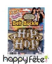 Boucle de ceinture hip hop old school
