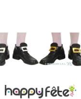 Boucles de chaussures dorée ou argentée