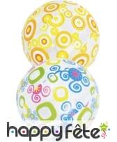 Ballon décoré de 50 cm