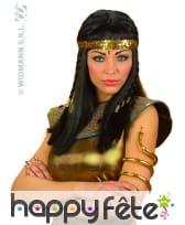 Bracelet doré d'égyptien. Serpent