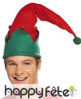 Bonnet d'elfe avec pompom