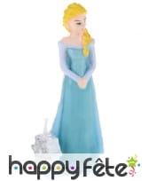 Bougie de Elsa la reine des neiges en 3D 9,5 cm