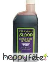 Bouteille de faux sang cosmétique, 480ml
