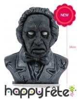 Buste de Halloween animé de 34cm, image 1