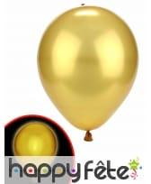 Ballon doré lumineux, image 1