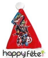 Bonnet de Noël Avengers, image 1