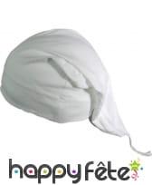 Bonnet de nuit blanc