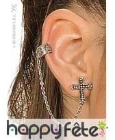 Boucles d'oreille gothique