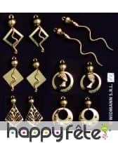 Boucles d'oreilles d'égyptienne