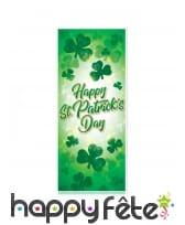 Banderole de porte happy St Patrick Day, 150x76cm