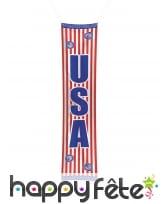 Bannière de porte USA, 300 x 60 cm