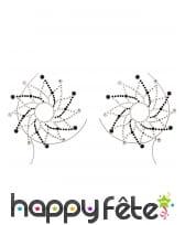 Bijoux de poitrine à coller fantaisie pour adulte, image 5