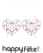Bijoux de poitrine à coller fantaisie pour adulte, image 6