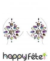 Bijoux de poitrine à coller fantaisie pour adulte, image 8