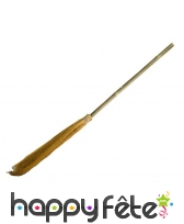 Balai de sorcière manche en bambou, 90cm