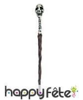 Bâton de sorcier vaudou en plastique de 45 cm