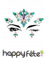 Bijoux de visage à coller fantaisie pour adulte, image 6