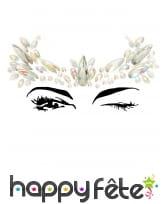 Bijoux de visage à coller fantaisie pour adulte, image 7