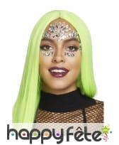 Bijoux de visage fantaisie à coller pour adulte, image 9