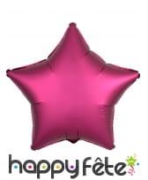 Ballon étoile aluminium de 45cm, image 8