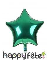 Ballon étoile aluminium de 45cm, image 9