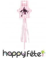 Baguette étoile de fée rose pour enfant, image 1