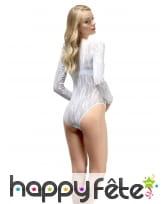 Body en dentelle blanche, image 3