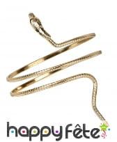Bracelet égyptien doré, image 1